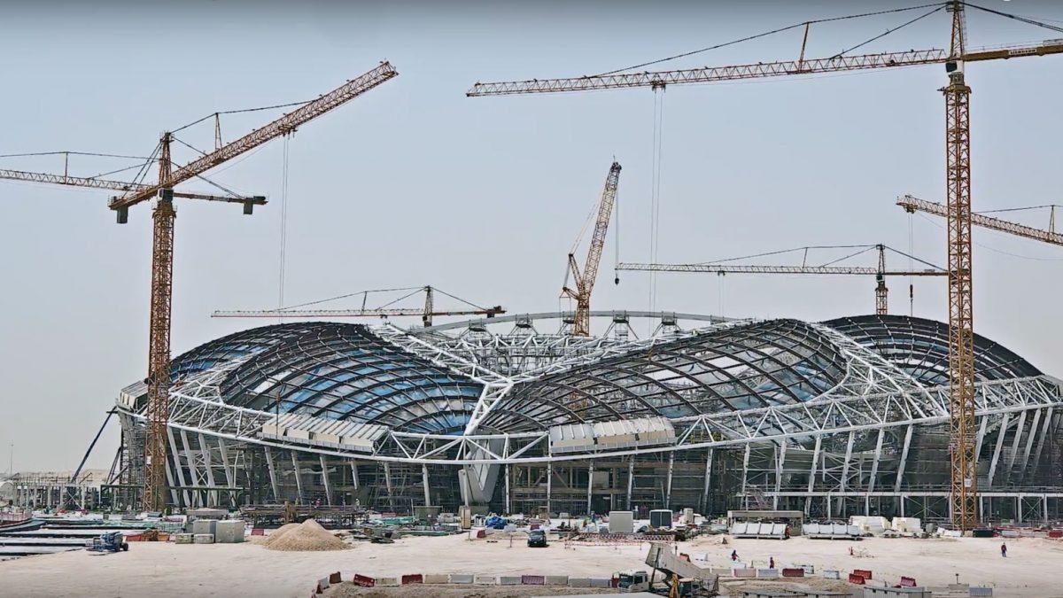 Ubrzani snimci izgradnje stadiona u Kataru za Svetsko prvenstvo 2022.