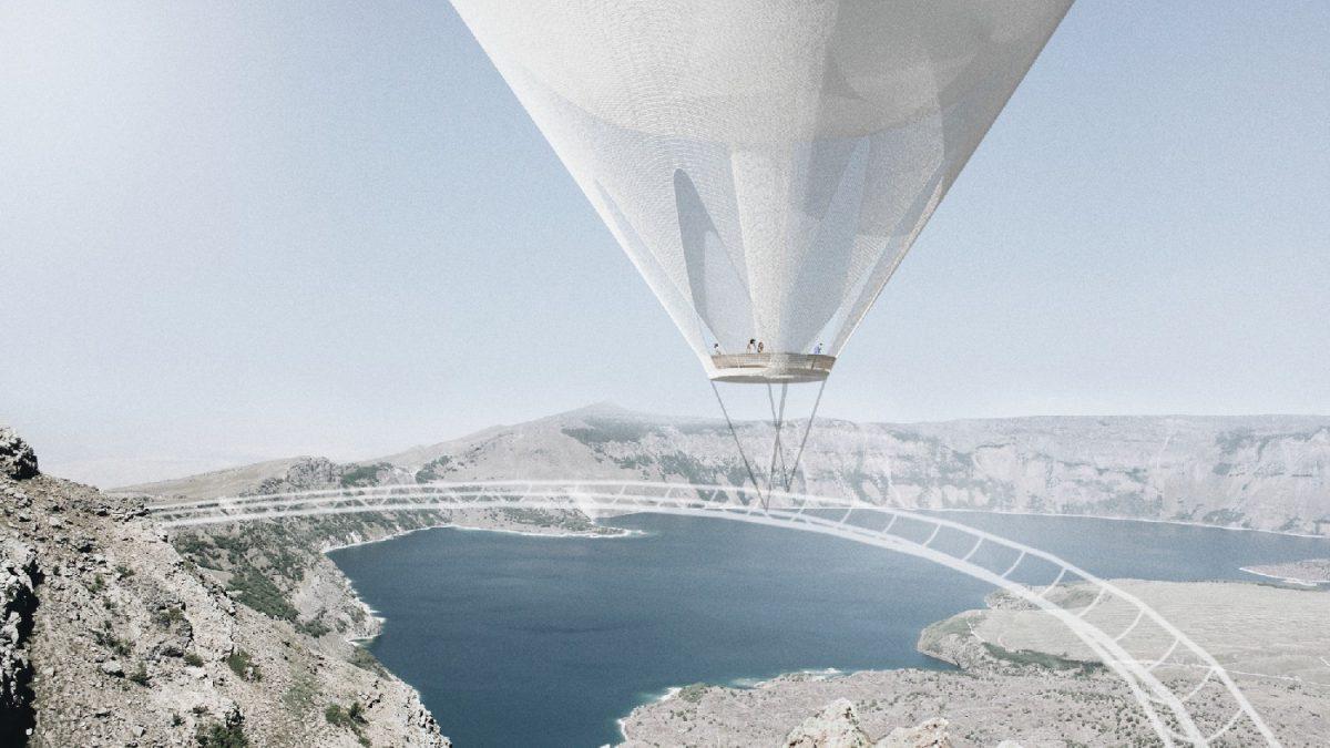 Balonom iznad kratera? Najbolja rešenja vidikovca nad vulkanom u Turskoj