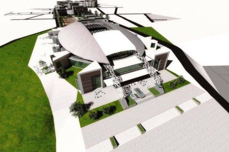 Beli stadion (izvor Žugaj inženjering)