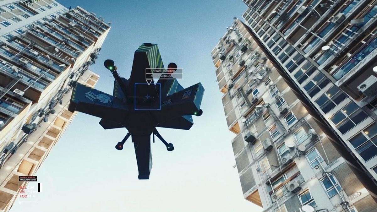 Pogledajte film o tome kako će dronovi promeniti gradove
