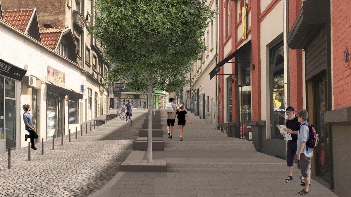 Kako će izgledati rekonstruisana ulica Kraljevića Marka u Beogradu