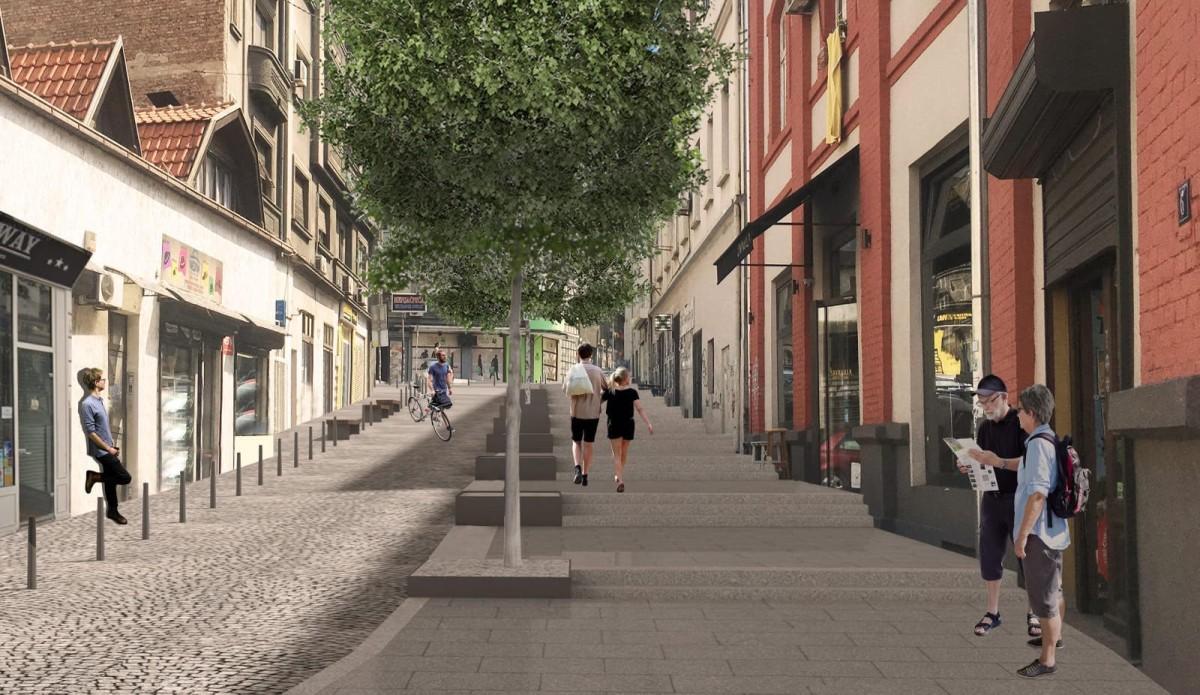Kako Ce Izgledati Rekonstruisana Ulica Kraljevica Marka U Beogradu