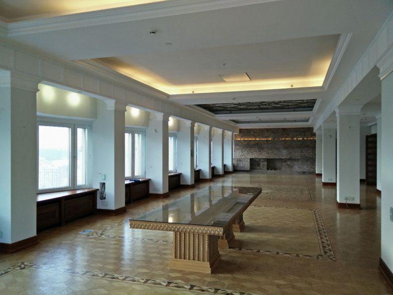 Trpezarija starog vlasnika hotela na 20 spratu