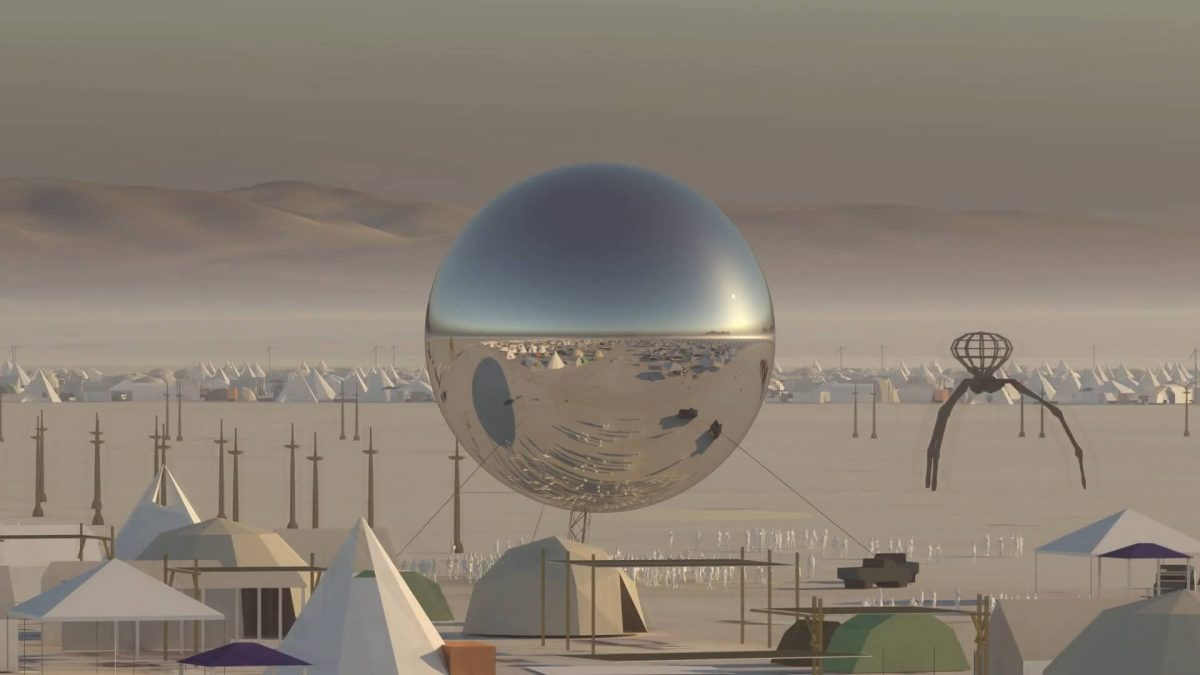 Za potrebe festivala: Replika Zemlje u razmeri 1:500.000 od 30 tona čelika