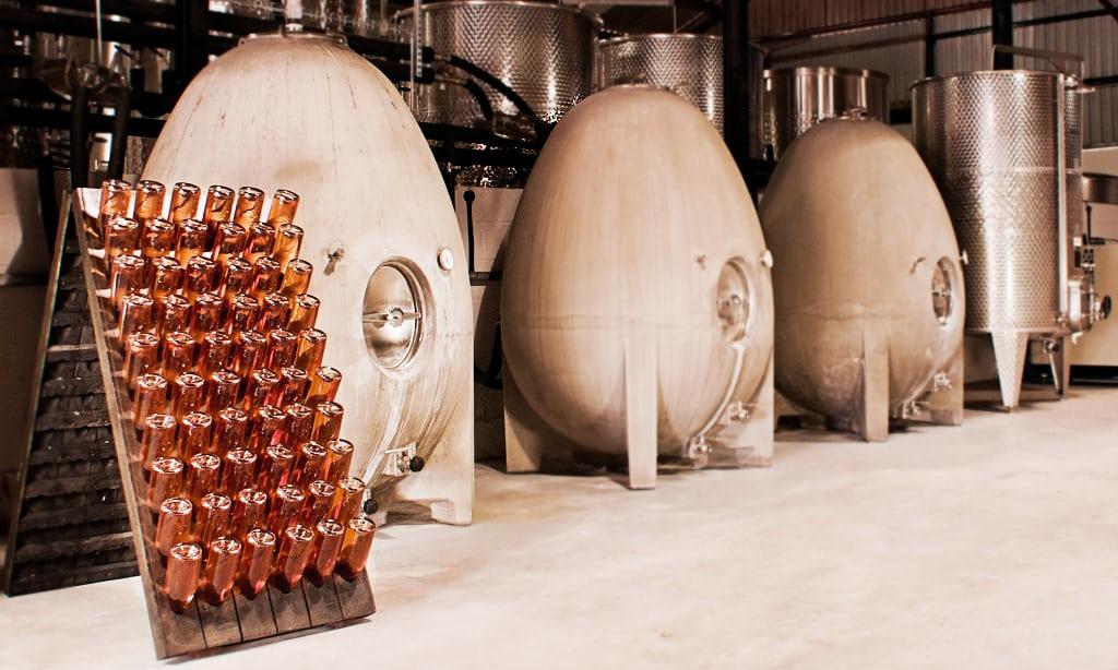 Burad za vino od betona