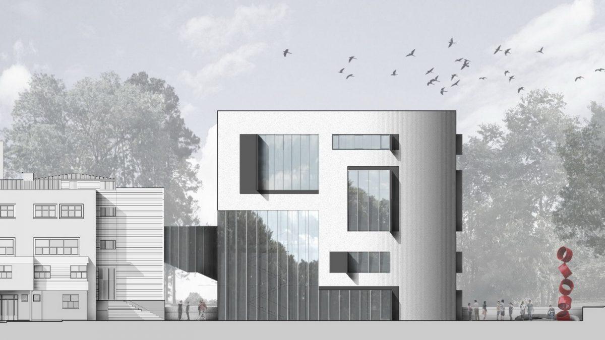 Kako će izgledati proširenje Fakulteta organizacionih nauka u Beogradu