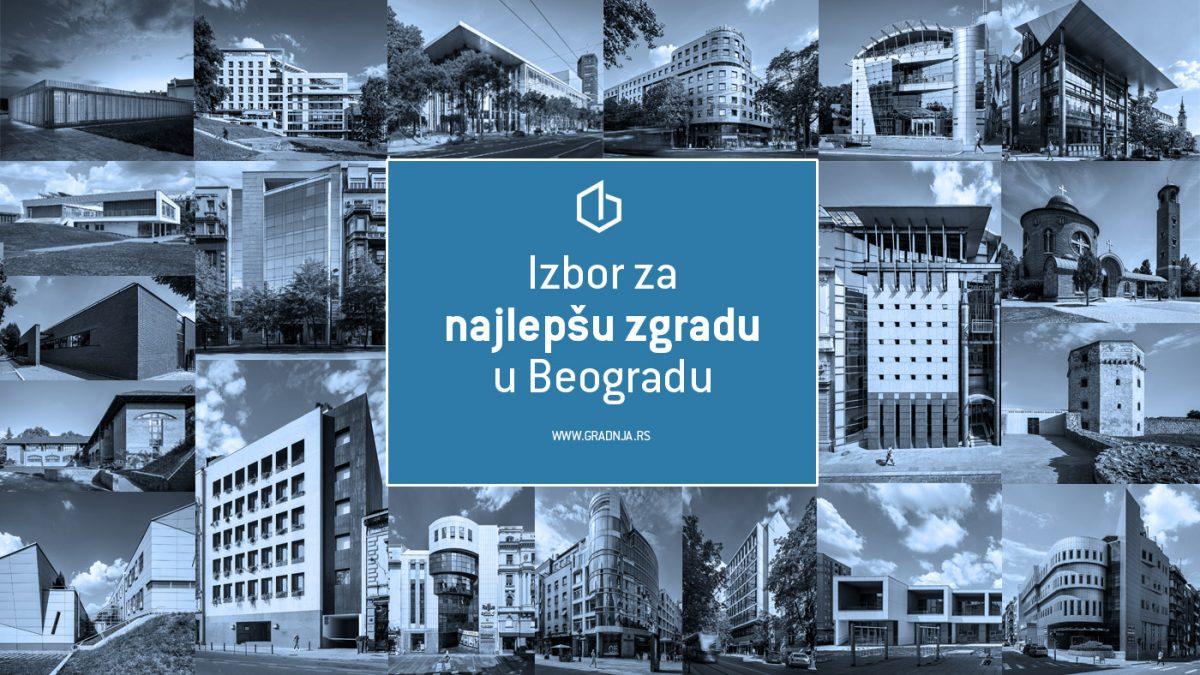 Izbor za najlepšu zgradu u Beogradu u poslednjih 25 godina