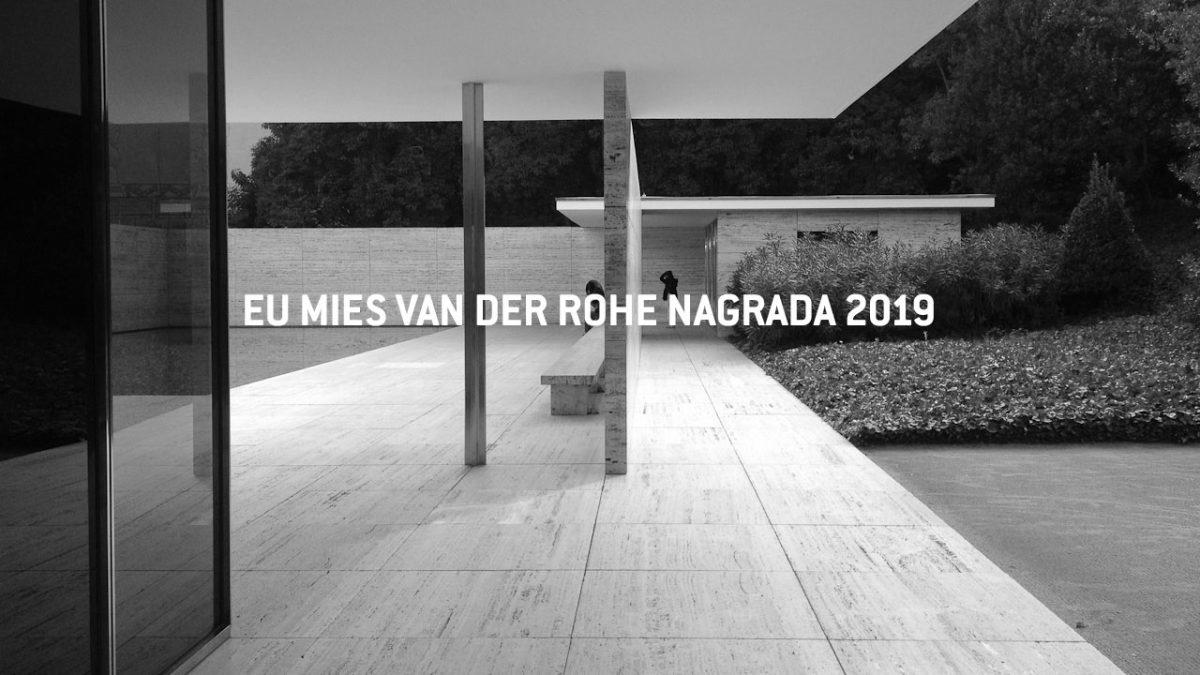 Nominujte objekte iz Srbije za prestižnu nagradu Mies van der Rohe