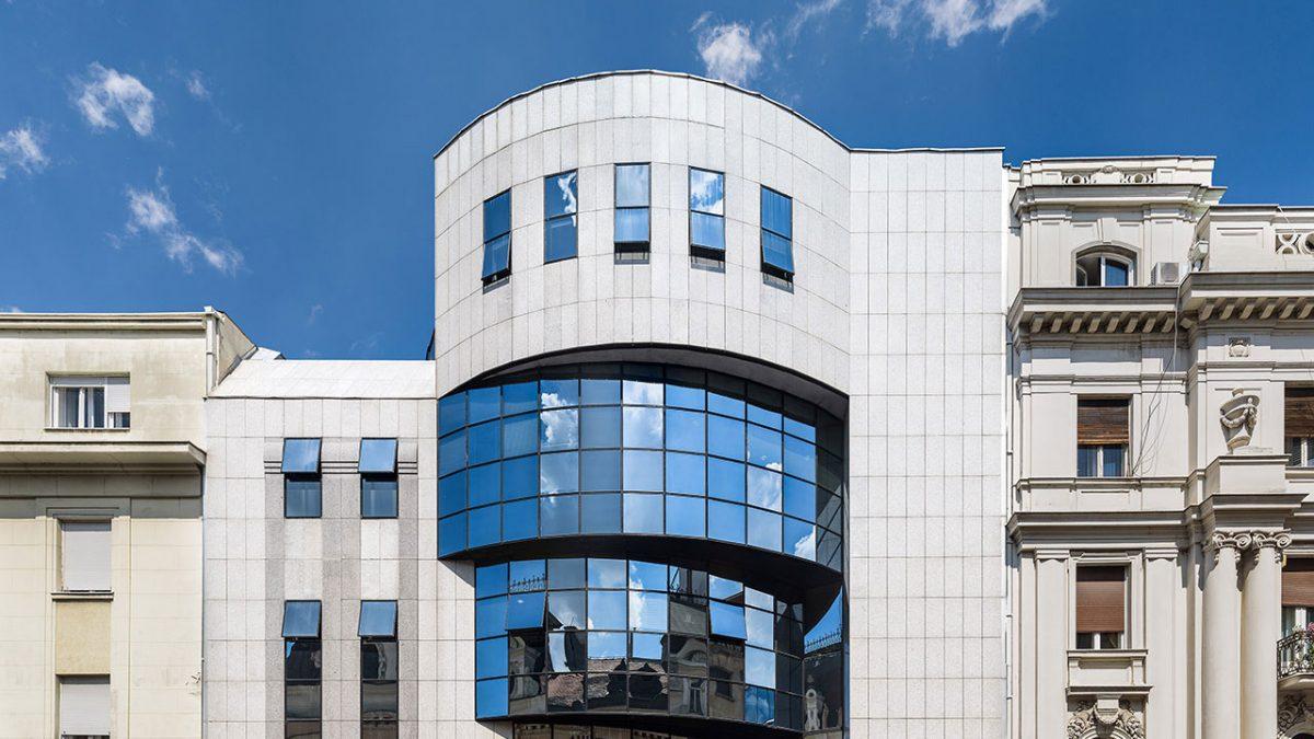 Zgrada Kristal kandidat za najlepšu zgradu u prestonici