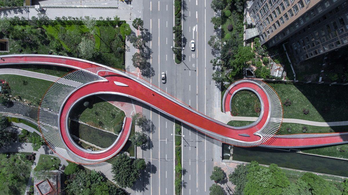 U Kini podignut pešački most koji donosi sreću prolaznicima poput amajlije