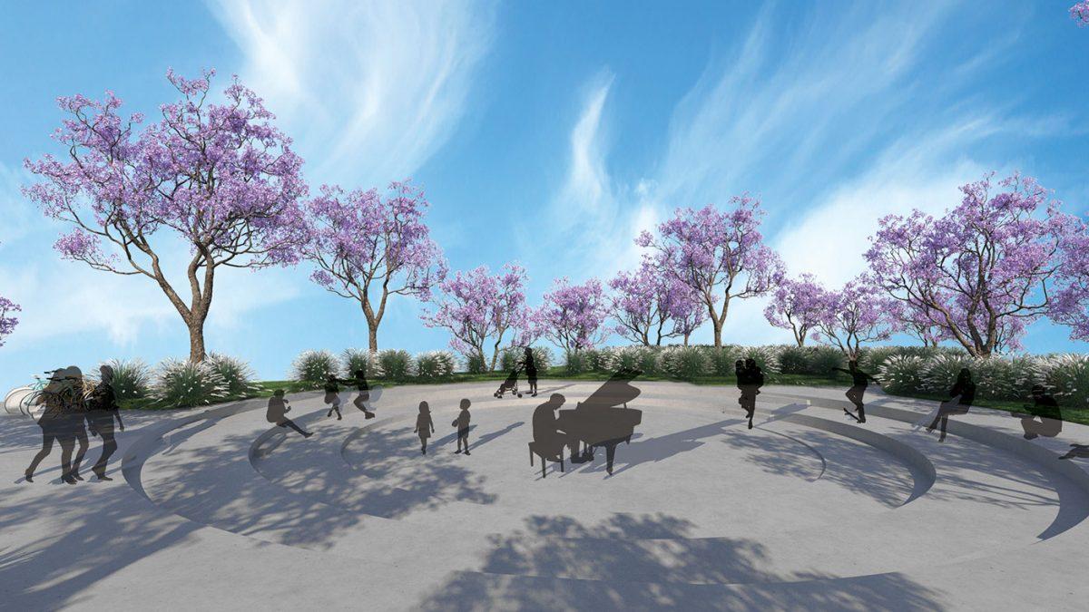 Novi novosadski plato ušuškan u koloritno drveće i aromatično žbunje