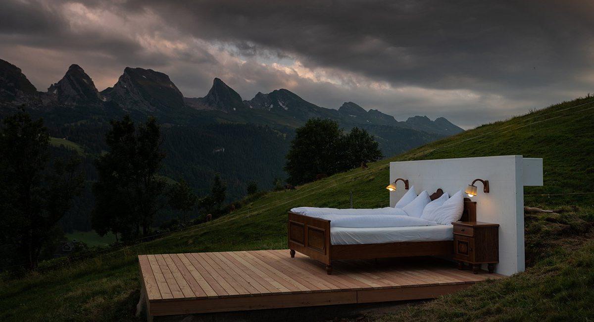 Hotel bez zidova i krova: Ovaj švajcarski smeštaj nudi samo ono što vam je stvarno potrebno