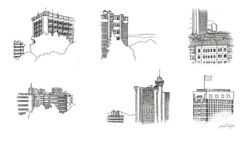 Brutalizam i renesansa: Instagram profil o doživljaju beogradske arhitekture