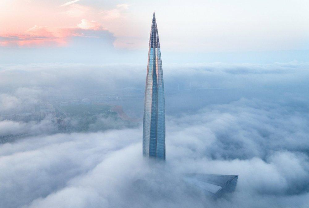 Gazpromova kula u Sankt Peterburgu je nova najviša zgrada u Evropi