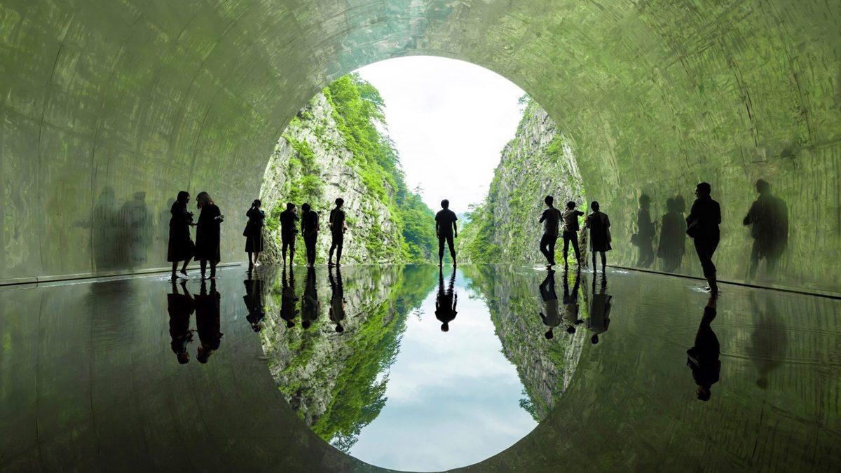 Transformacija starog japanskog tunela u umetničku galeriju