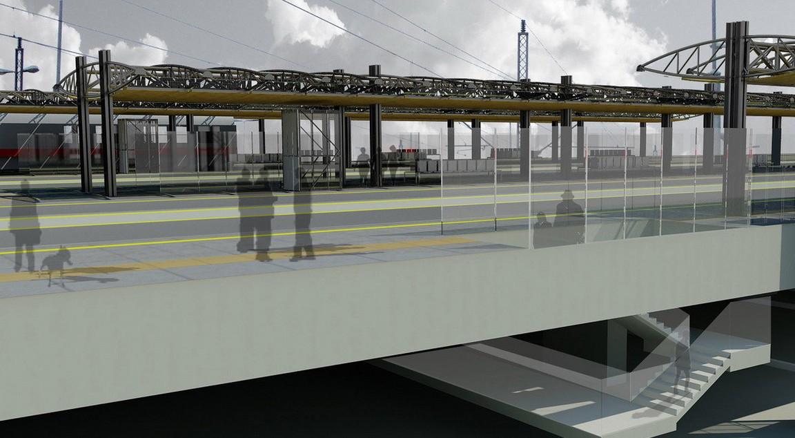 Stanica Novi Beograd 3: Modernizacija i izgradnja brze pruge od Beograda do Subotice trenutno je najveći i najvredniji infrastrukturni projekat u zemlji; foto: CIP/Beobuild