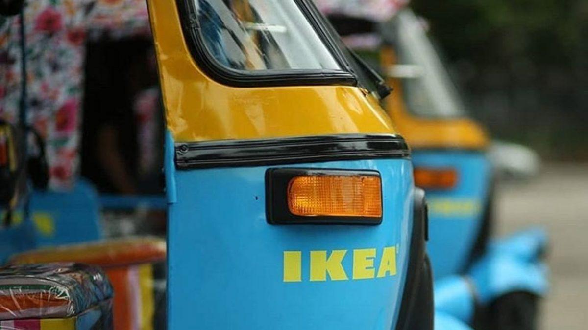 Rikše na struju: Novi način isporuke Ikeinih proizvoda