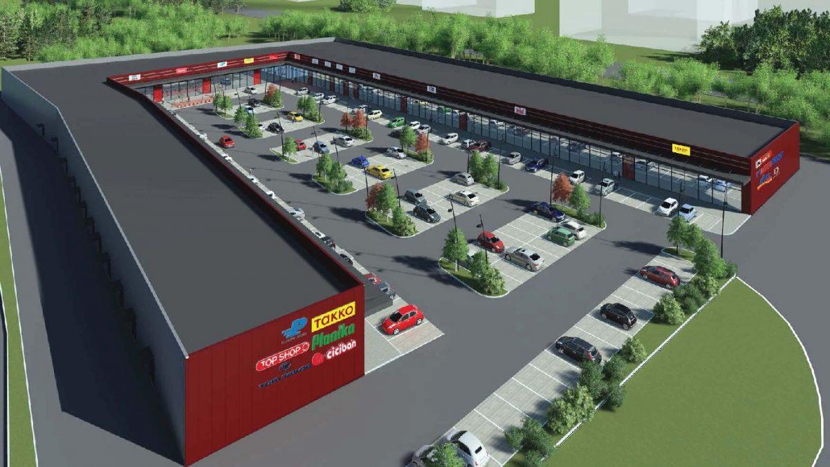 Kako će izgledati tržni centar Shop park u Gornjem Milanovcu