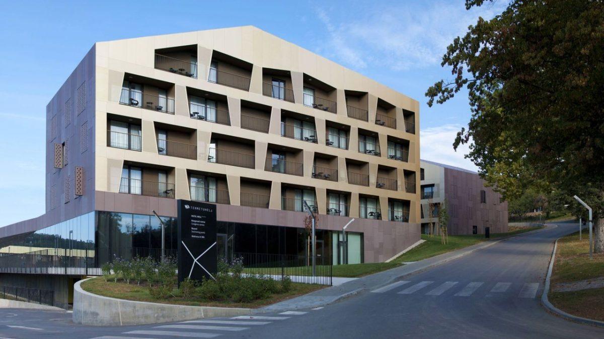 Zašto su se projektanti banjskog hotela u Hrvatskoj odlučili za fasadu od aluminijuma
