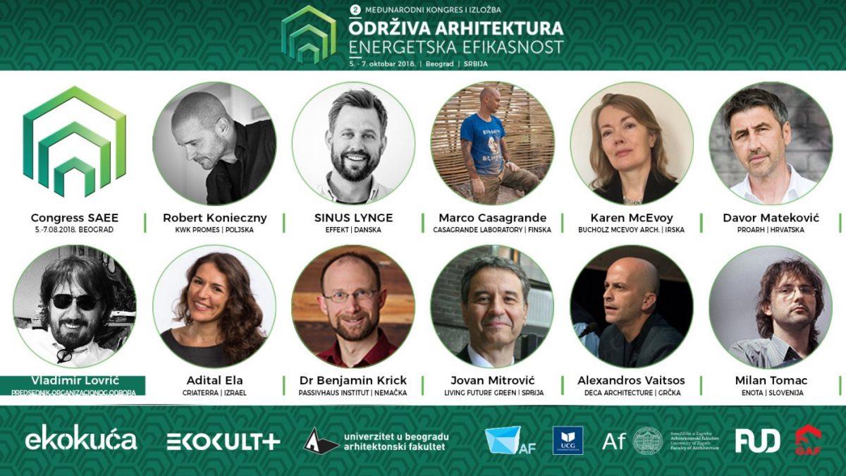 Drugi međunarodni kongres Održiva arhitektura – energetska efikasnost