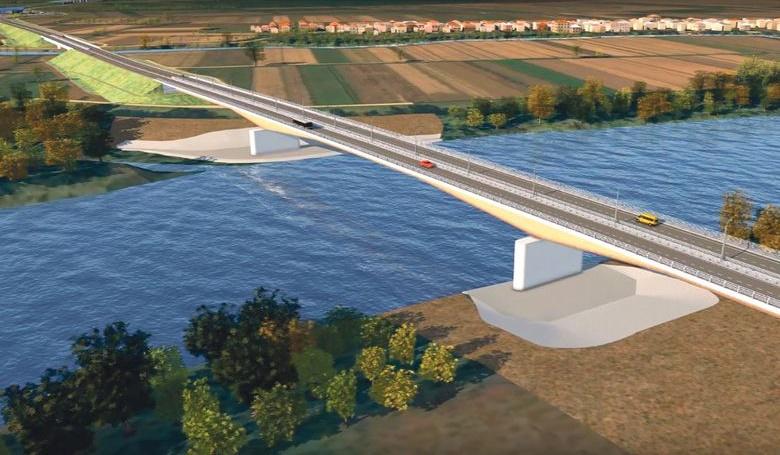 Gradnja mosta u Gradiški obustavljena i pre nego što je počela