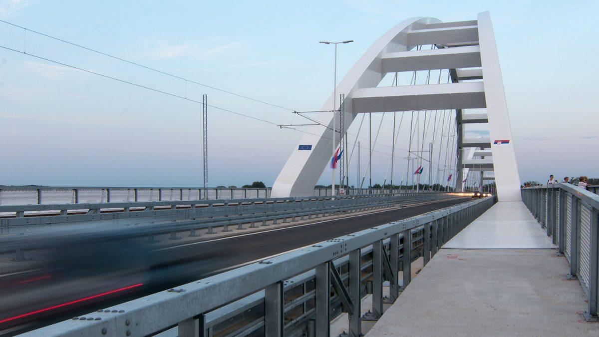 Železničko-drumski most u Novom Sadu / Aleksandar Bojović