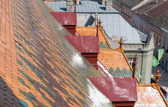 ...  a limeni delova krovu su ofabrani