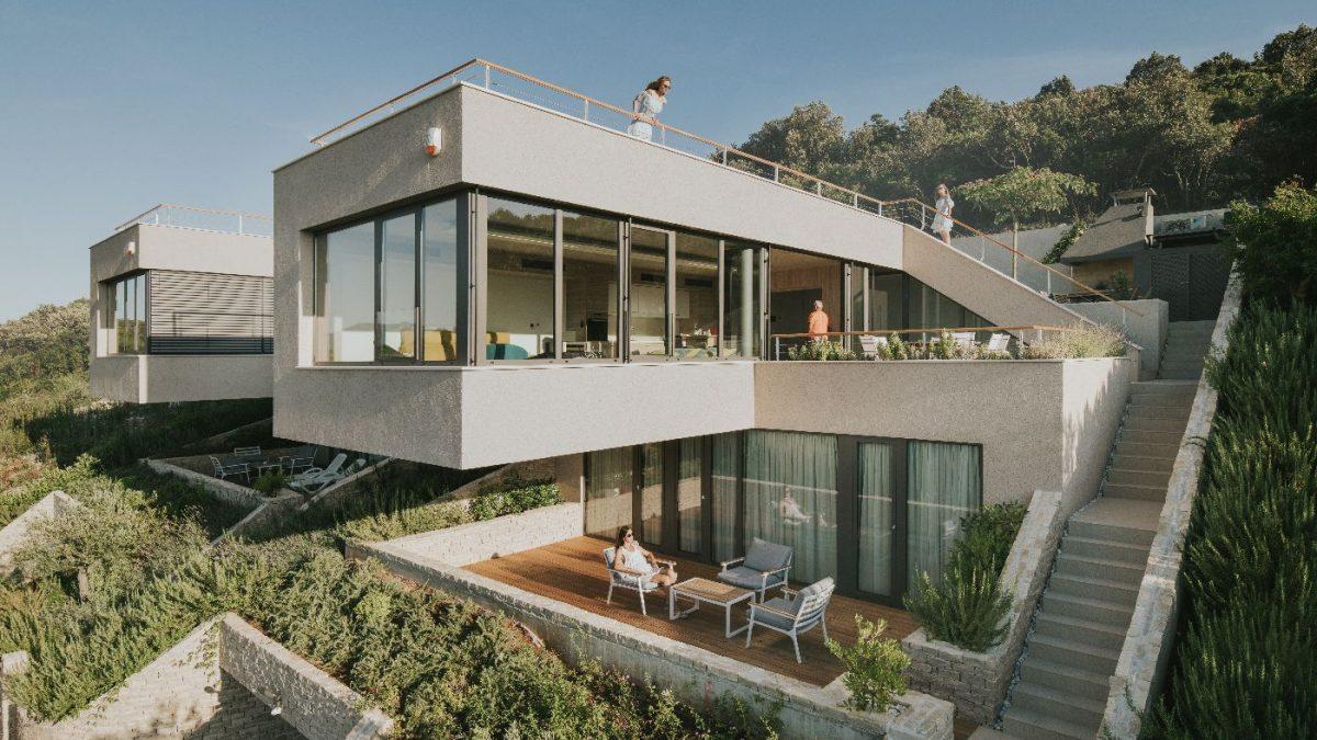 Kuće za odmor Tinel na Korčuli / SODAarhitekti