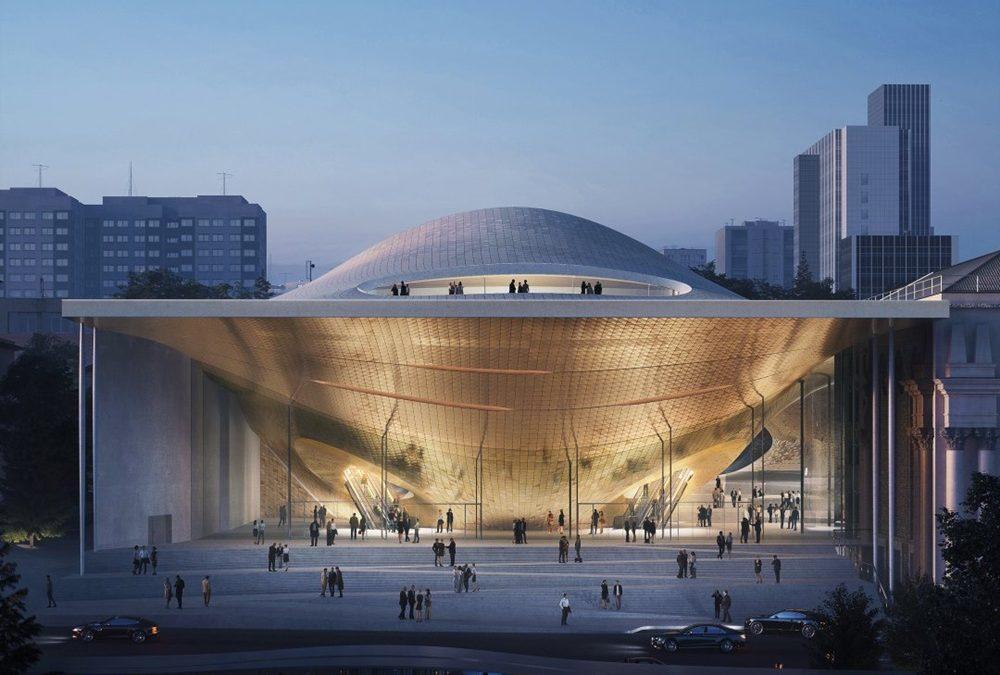Koncertna dvorana u Jekaterinburgu po projektu Zaha Hadid Architects