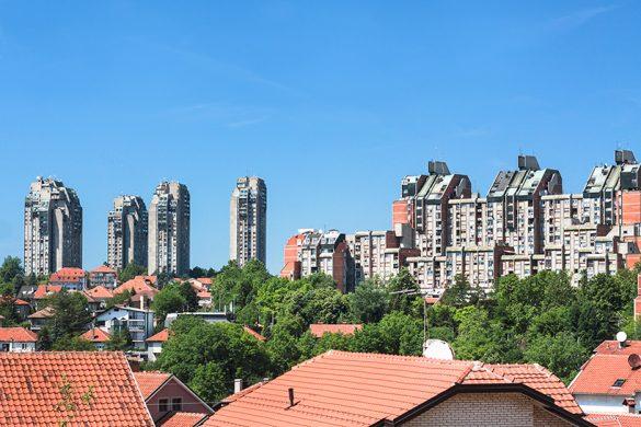 Rezidencijalni kompleks na Banjici, Branislav Karadžić, Slobodan Drinjaković i Aleksandar Stjepanović (1972-76) © Roberto Conte
