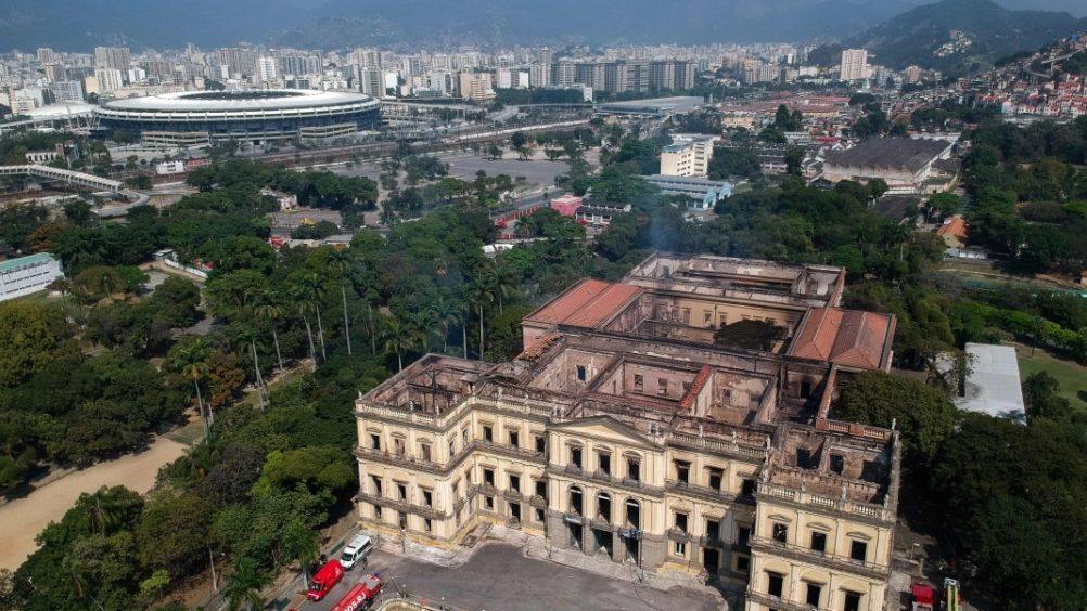 Počela obnova nakon razornog požara u Narodnom muzeju Brazila