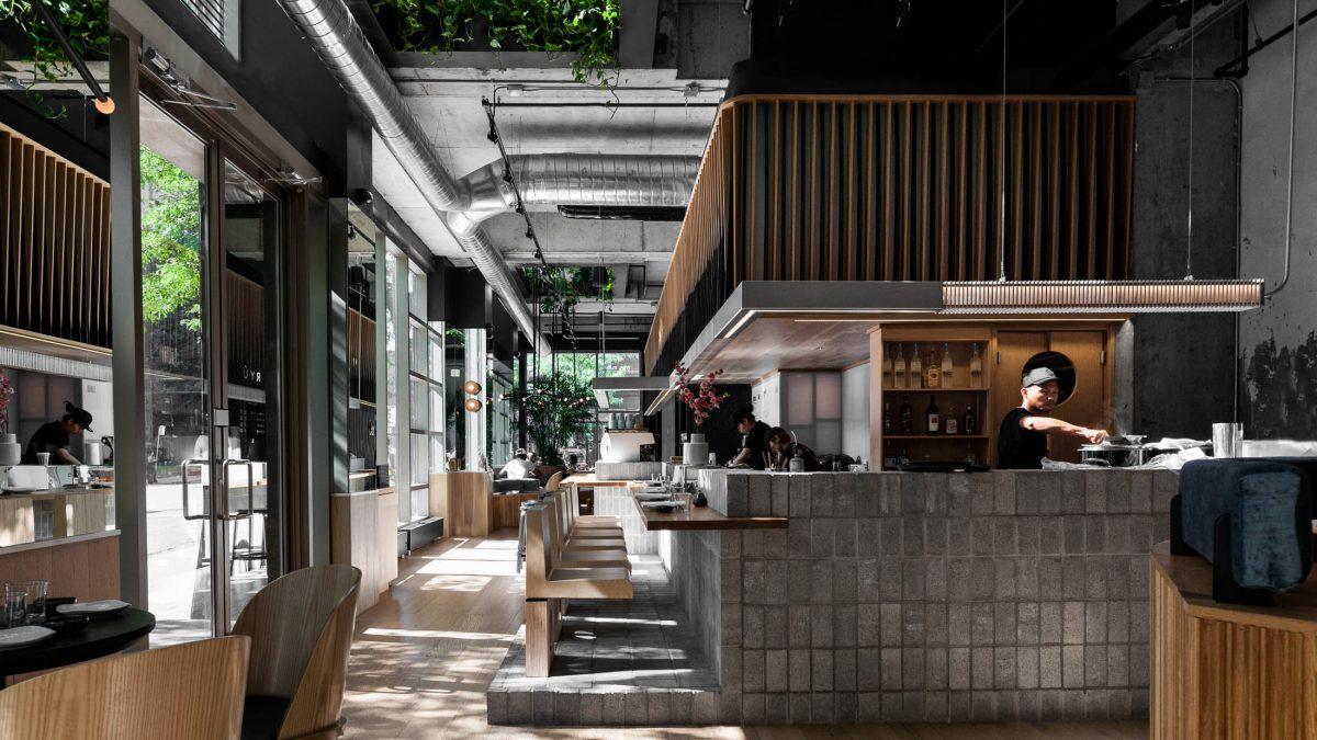 Kad savršenstvo kruga i bogatstvo zelenila posluži kao glavna inspiracija za enterijer restorana