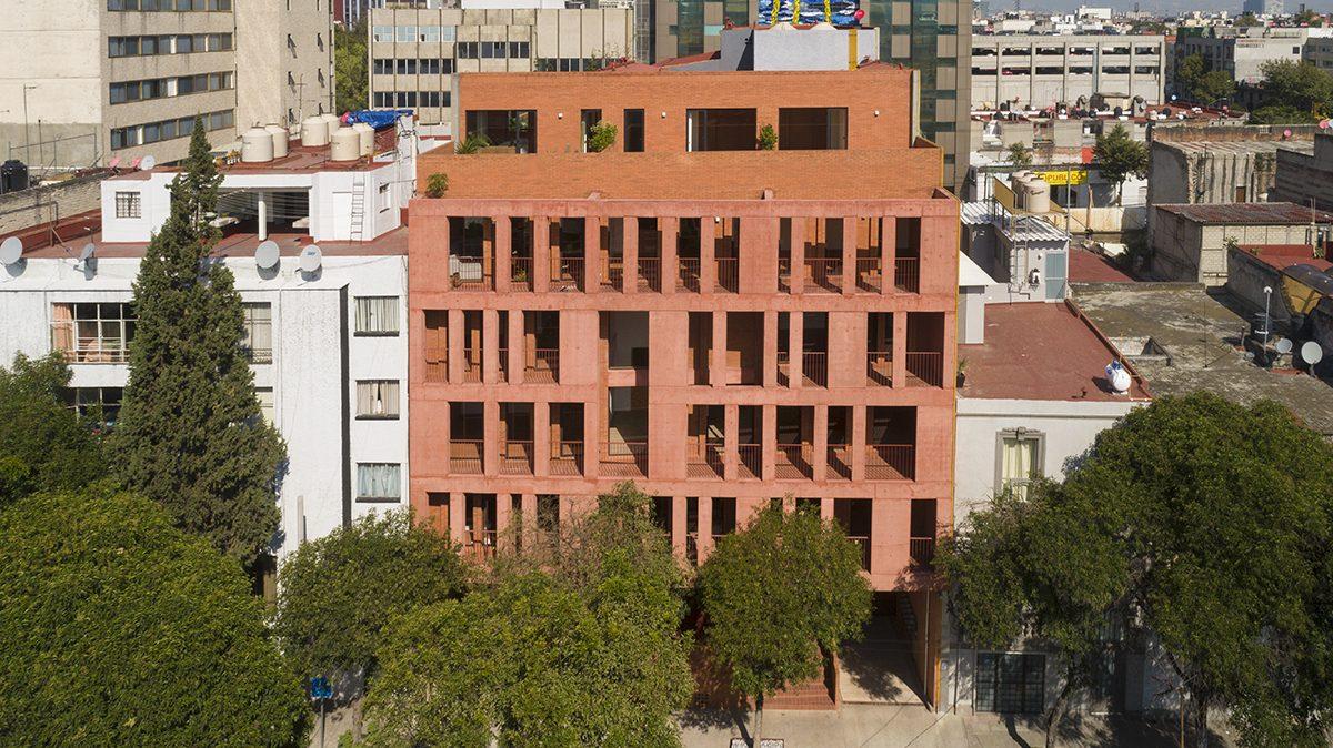 Eksterijer ove zgrade smelo ulazi i u enterijer stanova