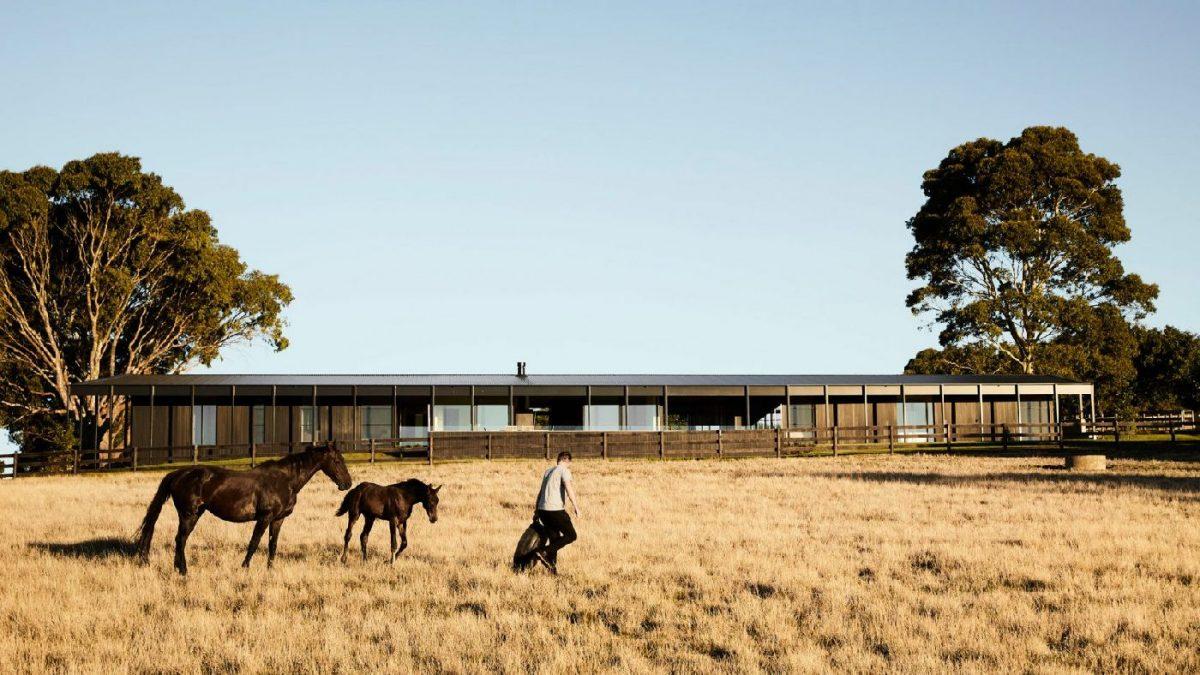 Moderna seoska kuća inspirisana farmama