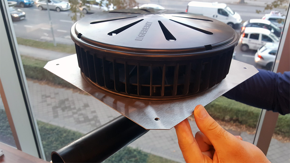 Za objekte bez oluka: Sistem za krovno odvodnjavanje Pluvia
