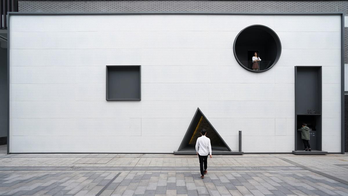 Krug, trougao, kvadrat: Razigrani prostor za zajednički rad inspirisan geometrijskim oblicima