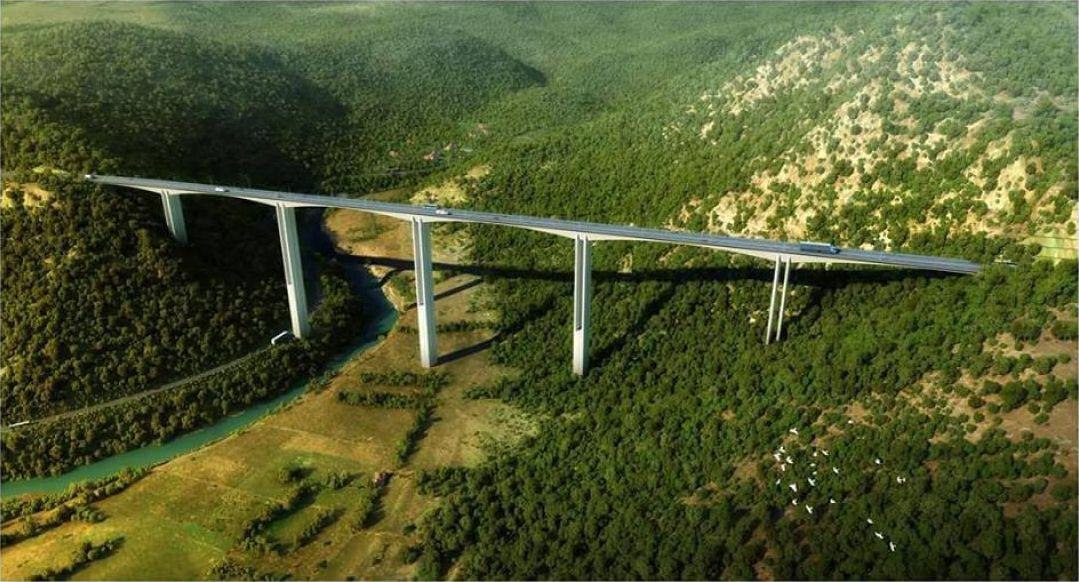 Spaja se najviši most na prostoru bivše Jugoslavije