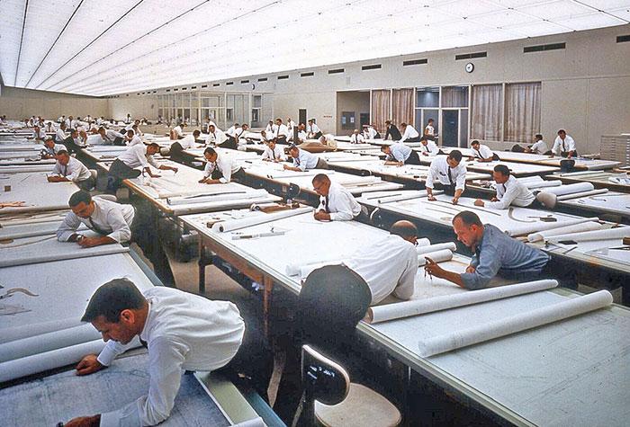 Život pre AutoCAD-a: 19 fotografija koje dočaravaju kako se nekada projektovalo