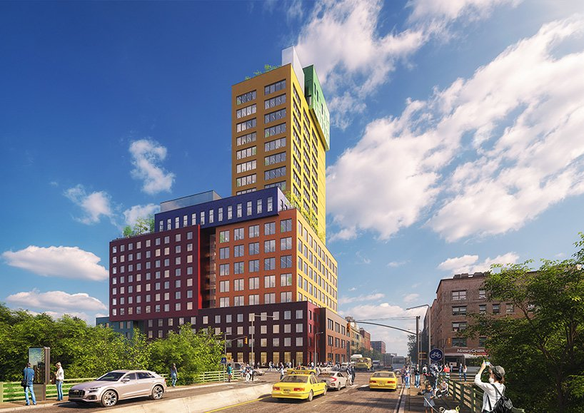 Vertikalno selo od šarenih betonskih blokova ulepšaće njujoršku panoramu
