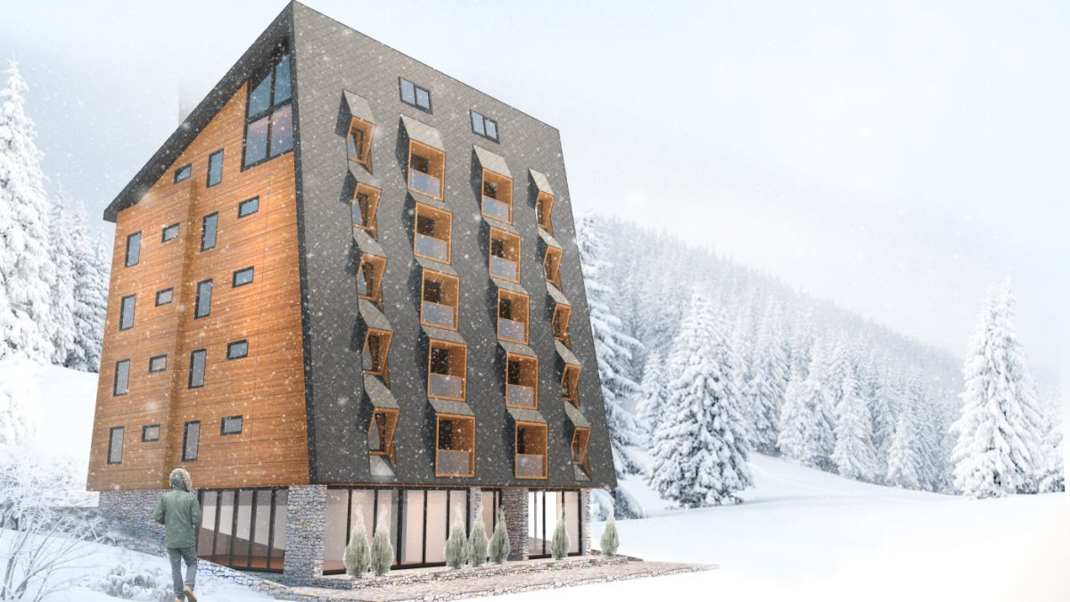 Novi hotel na Jahorini koji se svojom fasadom utapa u okruženje
