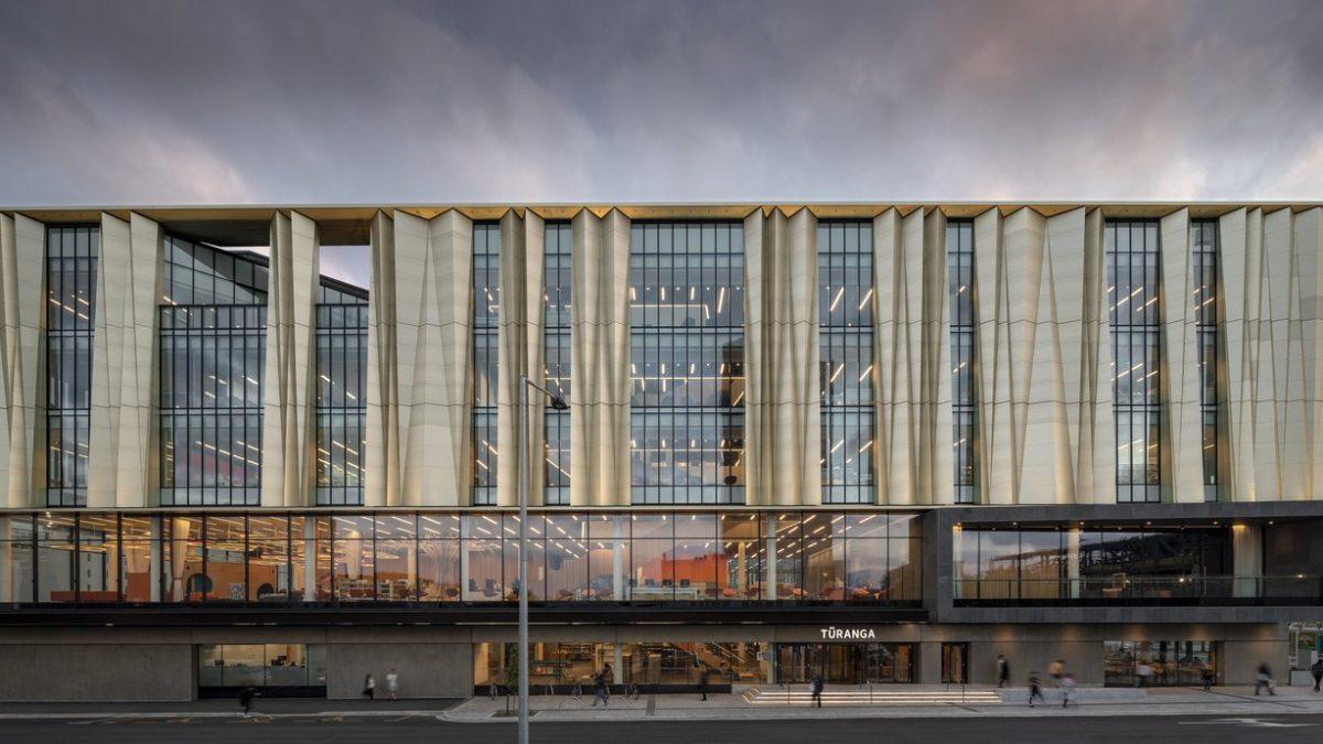 Zidovi u ovoj biblioteci se ljuljaju kako bi se zgrada zaštitila od zemljotresa