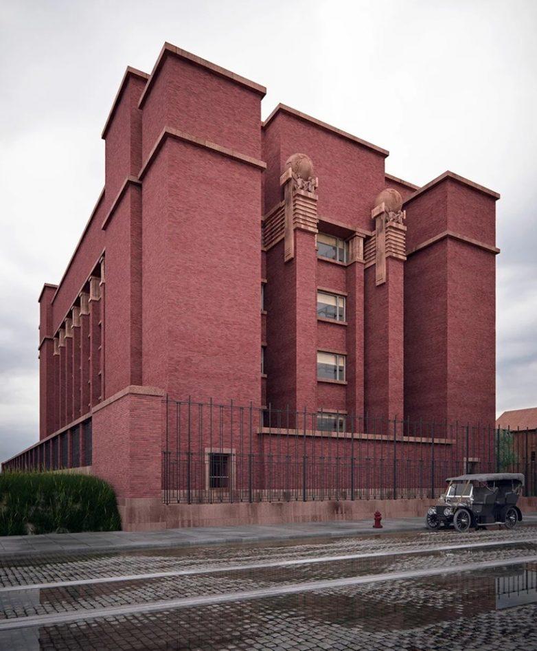 Administrativna zgrada kompanije Larkin u Njujorku