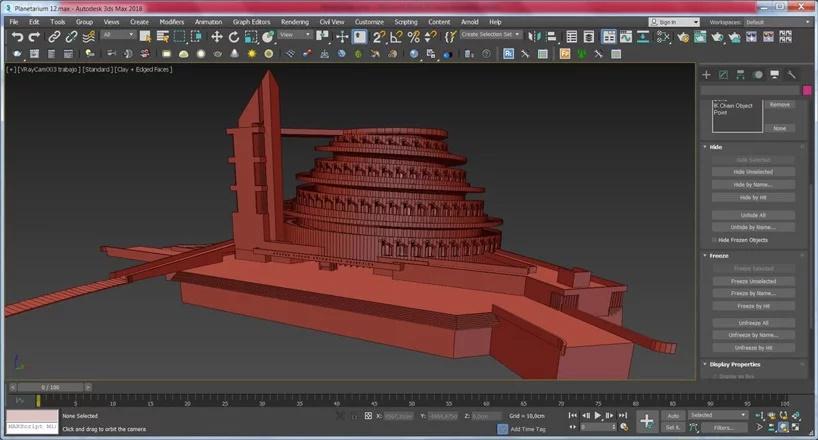 ... preko 3D modela...