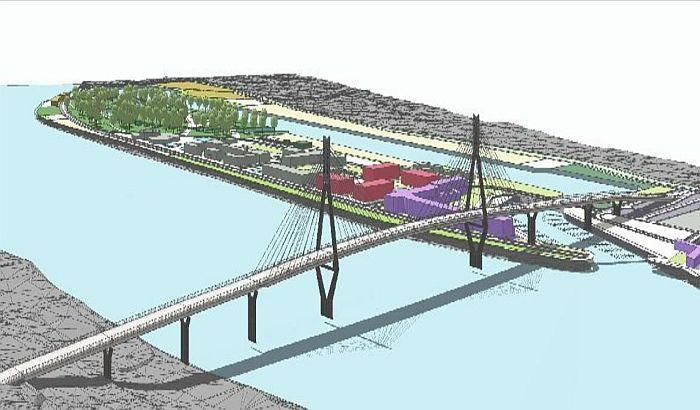 Traži se projekat mosta preko Ribarca koji ne liči ni na jedan postojeći u Novom Sadu
