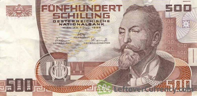 Oto Vagner na šilingu