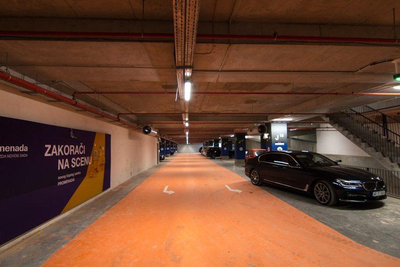Garaža za 1.500 vozila još nije otvorena