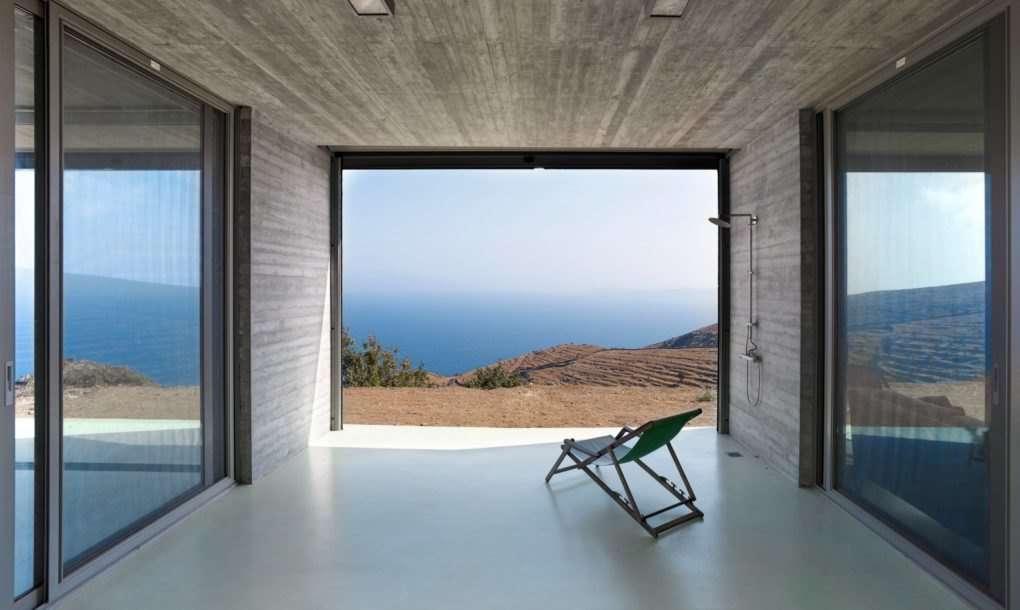 Glavni element projekta ove grčke kuće je – more