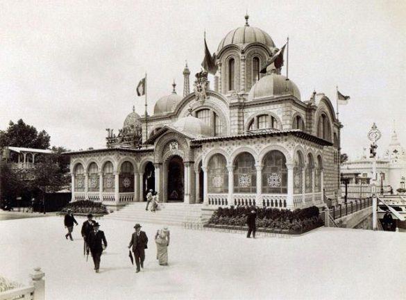 Paviljon Kraljevine Srbije arh. Milan Kapetanović