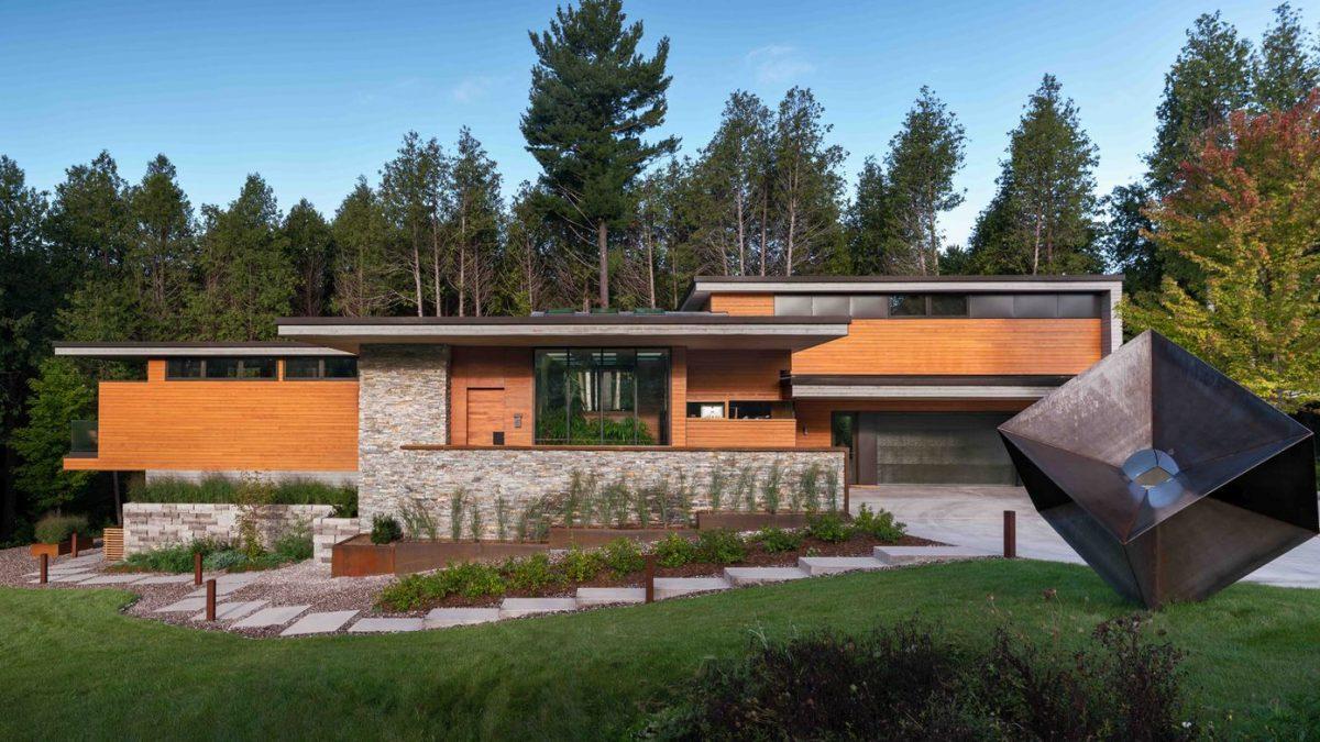 Upoznajte šumsku kuću koja je ujedno i masivna i prozračna