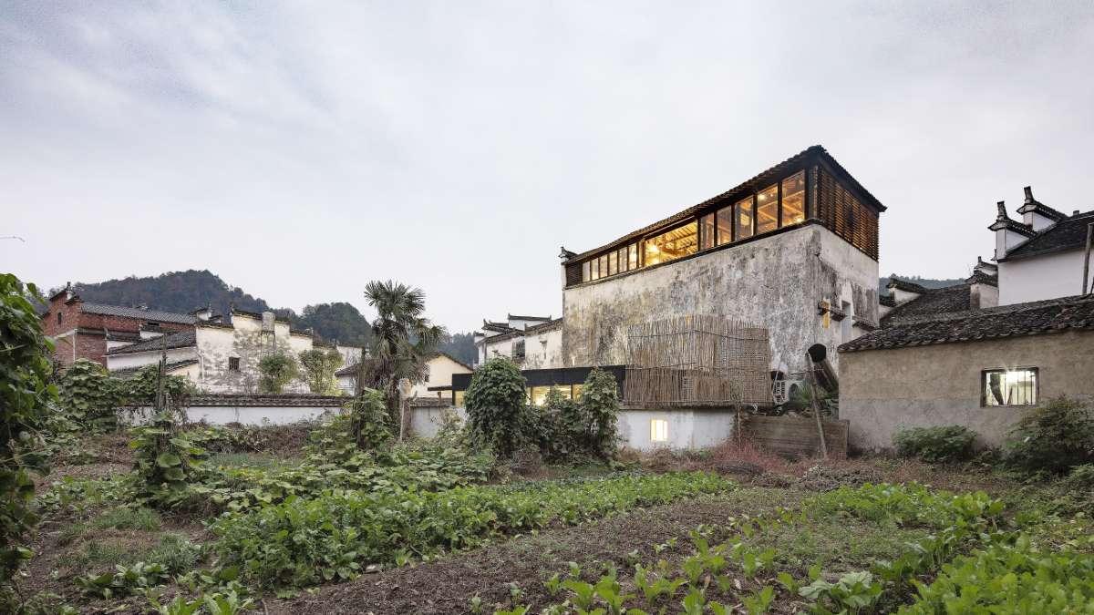Rekonstrucija 300 godina starog zdanja u Kini uz zadržavanje elegancije postojeće konstrukcije